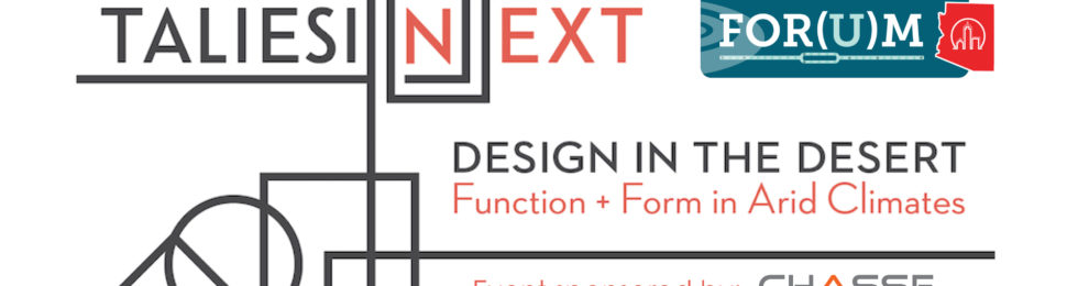 "Eddie to Join Panelists for ""Design in the Desert: Function + Form in Arid Climates"""