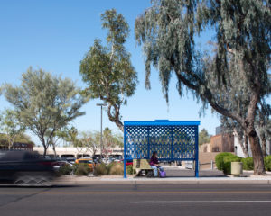Sew-cial 16th Street + Bethany Home Road Public Art & Bus Shelter