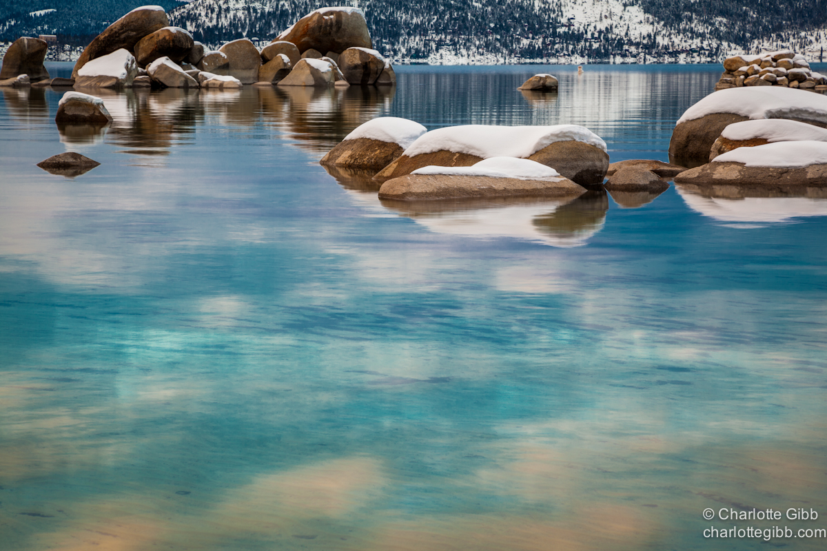 Lake Tahoe Aqua Winter