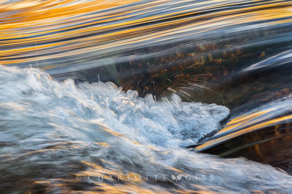 Rapids, Detail, Yosemite National Park, 2014