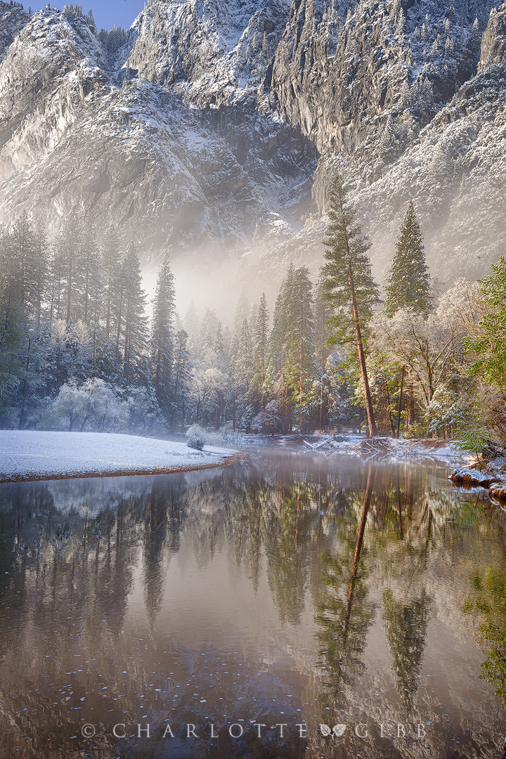 """Winter's Last Kiss"", April 8, 2015, Yosemite National Park"