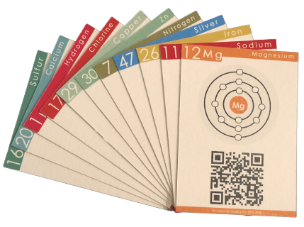 Science60 Card Game AR Augmented Reality Learning