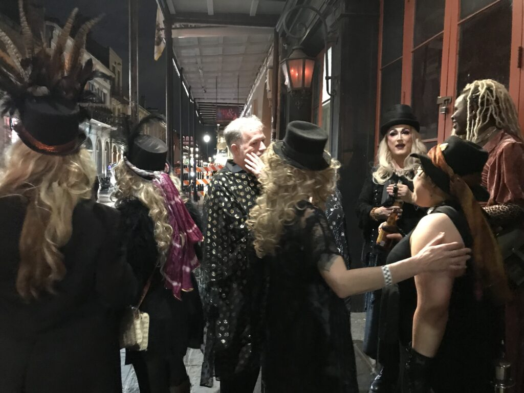 Outside Night of 1000 Stevies New Orleans 2020