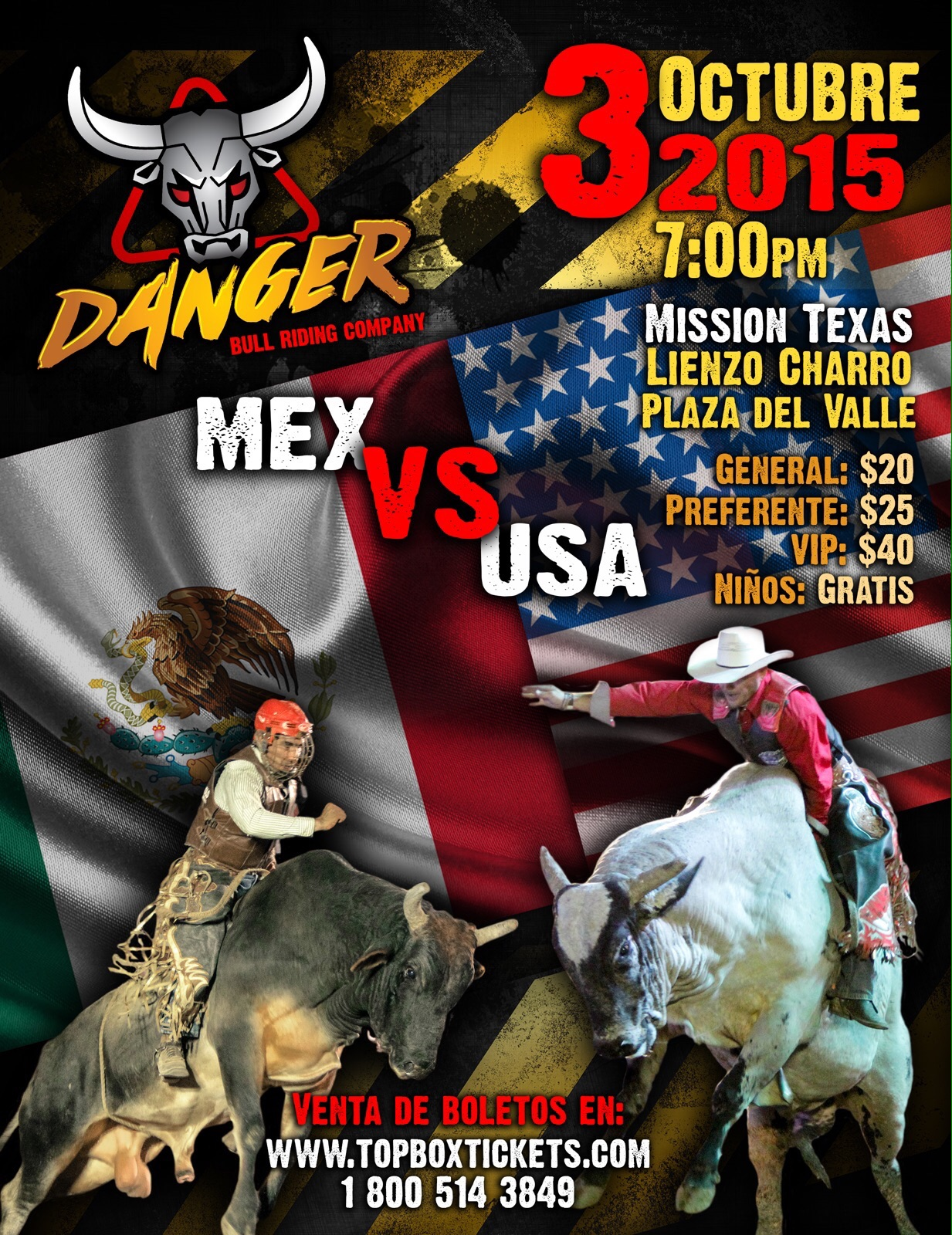 Danger Mex vs US