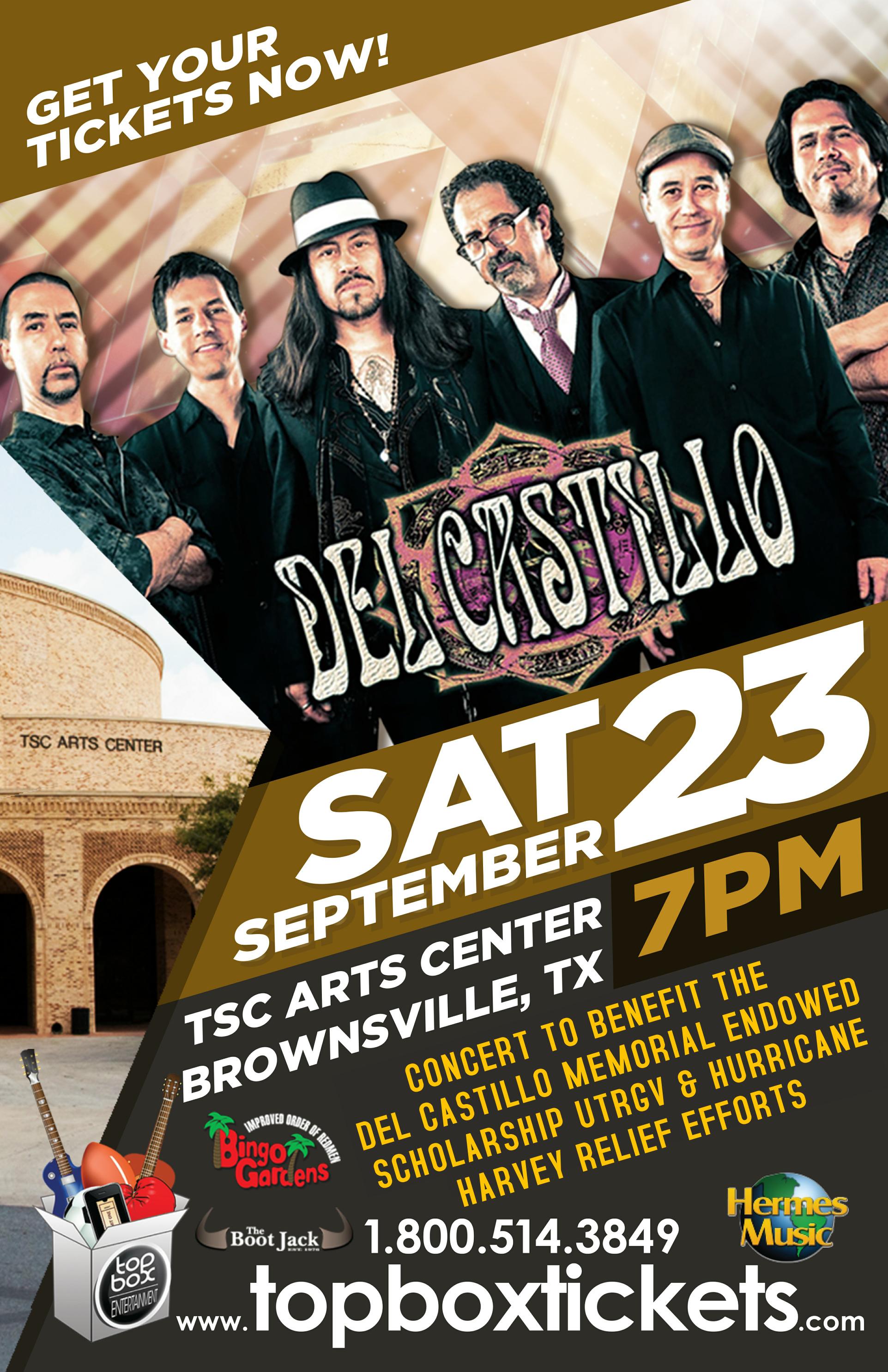 Del Castillo poster bville