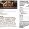 Unbleached Artisan Bread Flour Nutritional