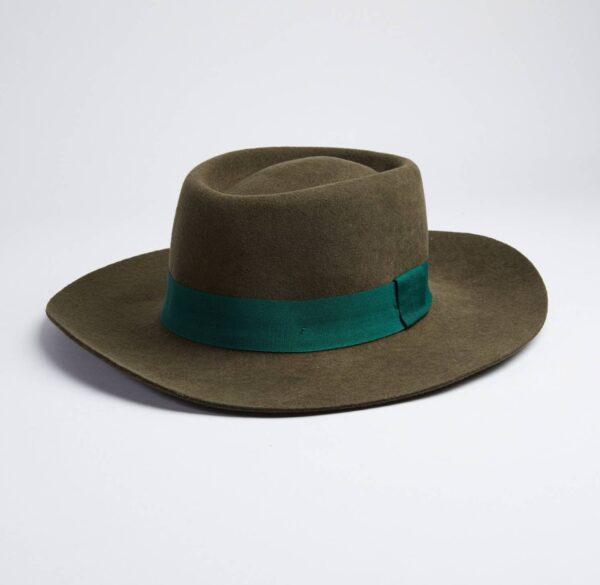 Valencia Country Style Green Felt Hat