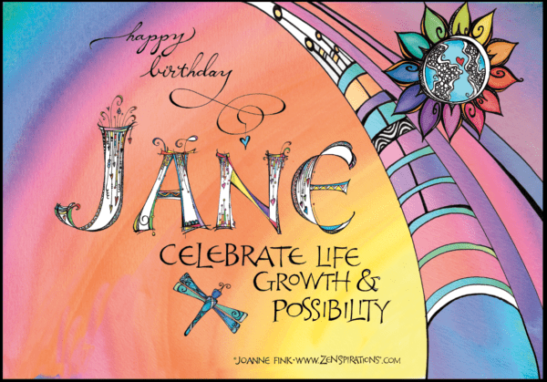 Zenspirations®_by_Joanne_Fink_Birthday_Retirement_Card_for_Jane