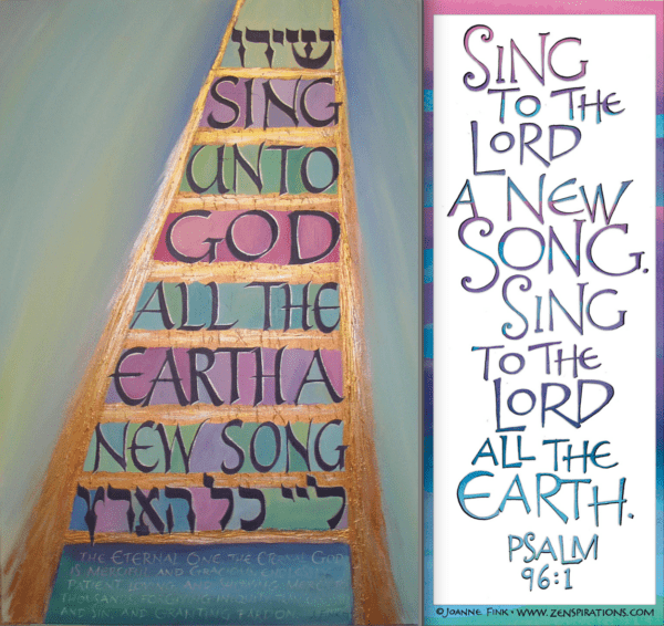 Zenspirations®_by_Joanne_Fink_Sing_Unto_God_Painting_duo