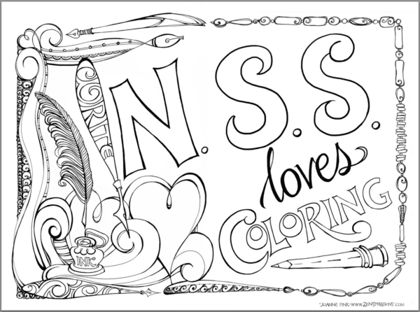 Zenspirations®_by_Joanne_Fink_NSS_Coloring_Directory_Page