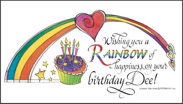 Zenspirations®_by_Joanne_Fink_Rainbow_Birthday_blog_Dee