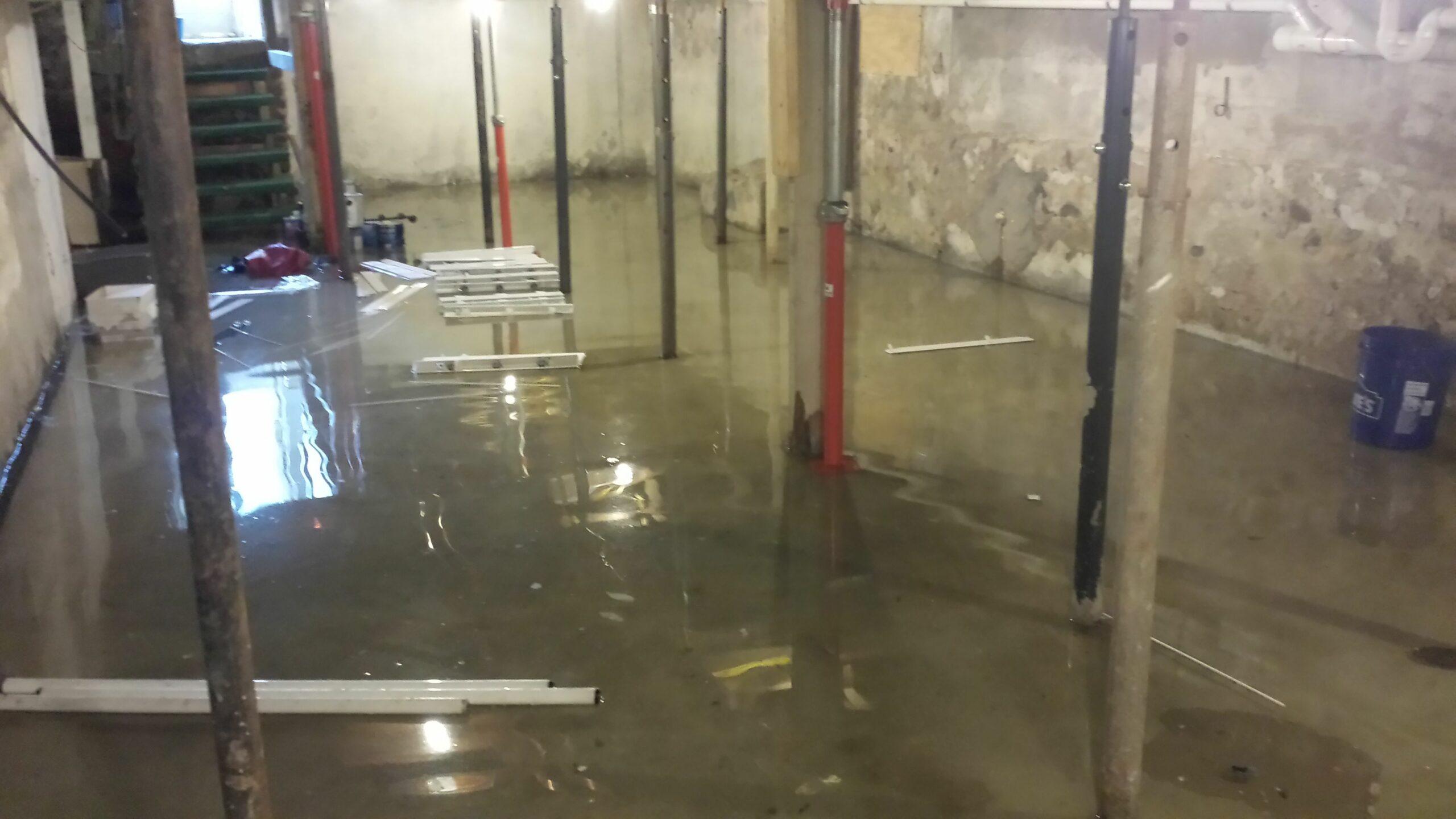 water basement
