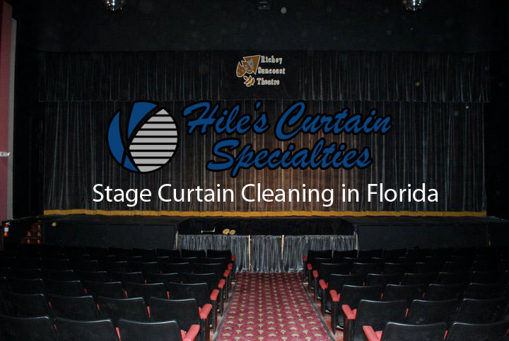 Theater and Stage Curtain Cleaning in Florida