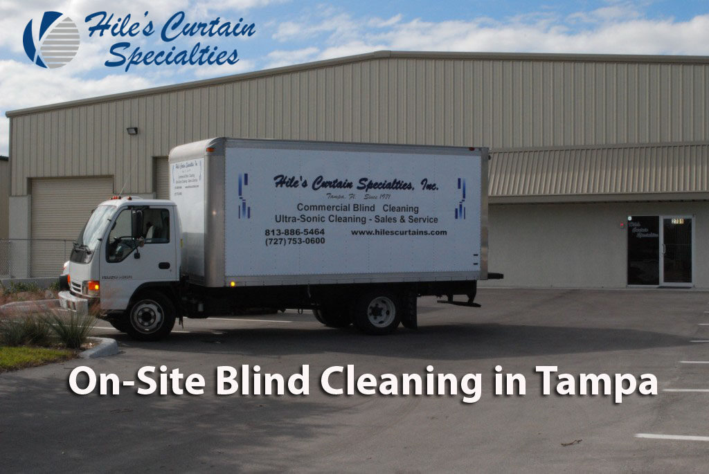 On-Site Blind Cleaning in Tampa