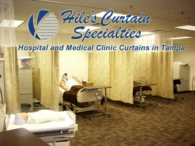 Medical Clinic Curtains in Tampa