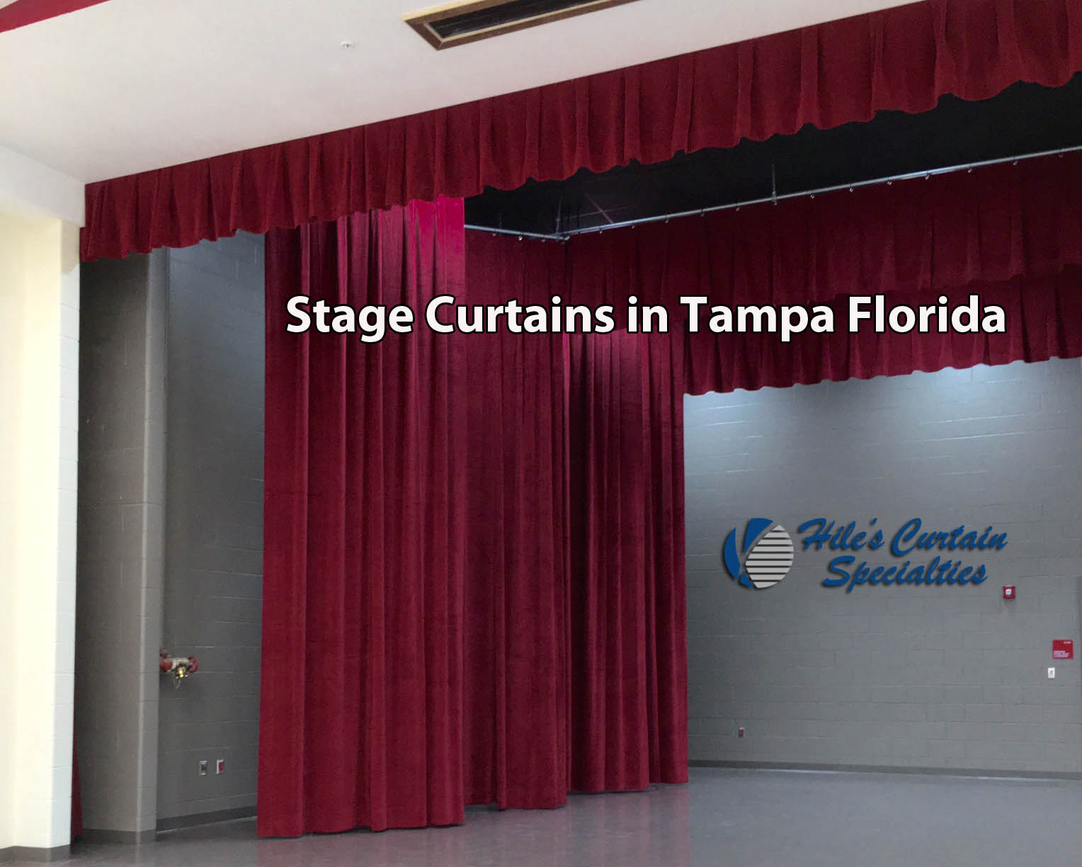 Stage Curtains in Tampa