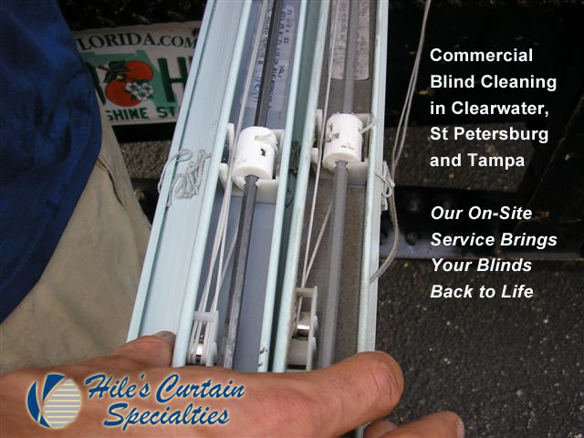 Commercial Blind Cleaning in Clearwater