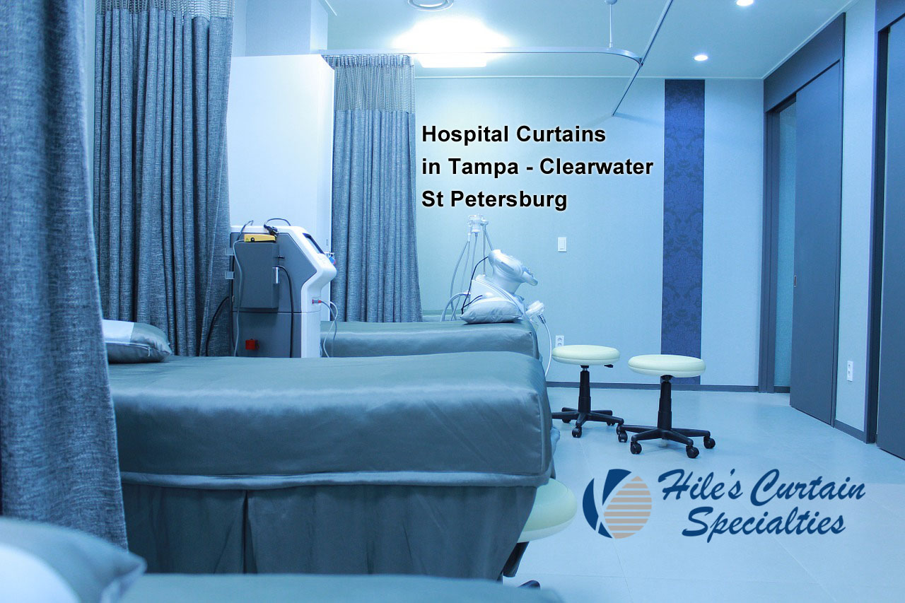 Hospital Curtains in Tampa - Clearwater - St Petersburg