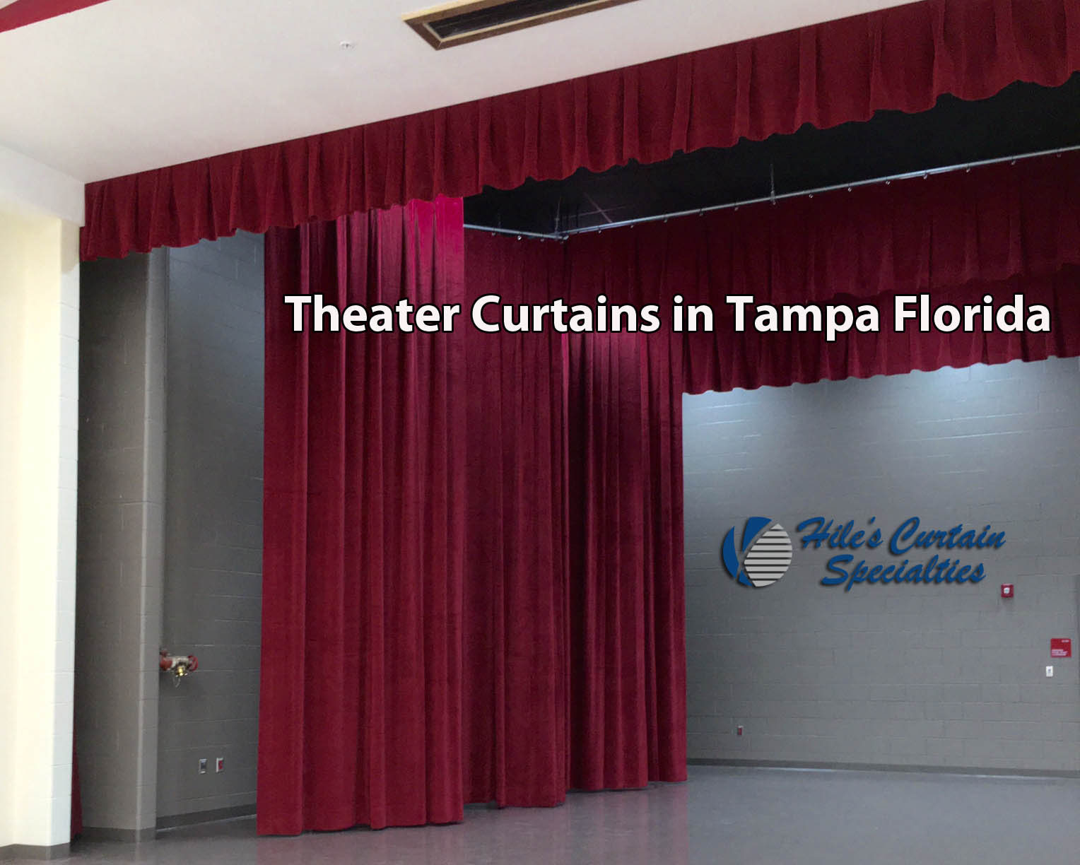 Theater Curtains in Tampa