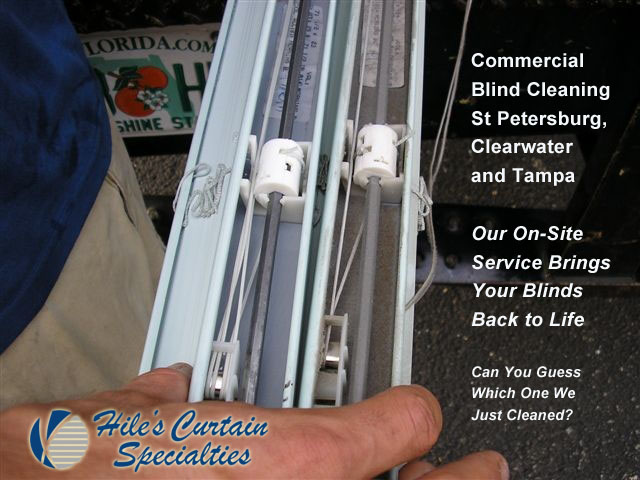 Commercial Blind Cleaning in St Petersburg Florida