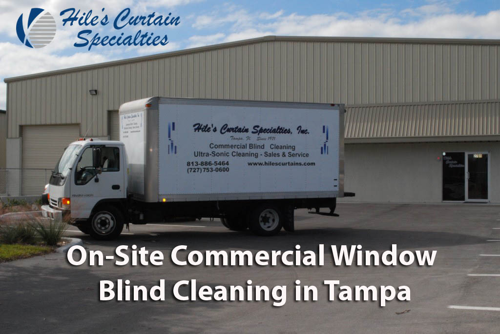 Commercial Window Blind Cleaning in Tampa