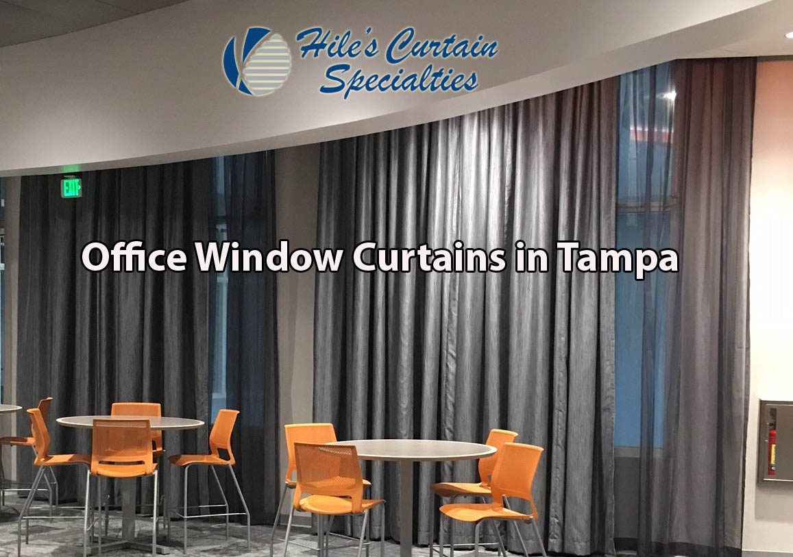 Office Window Curtains in Tampa