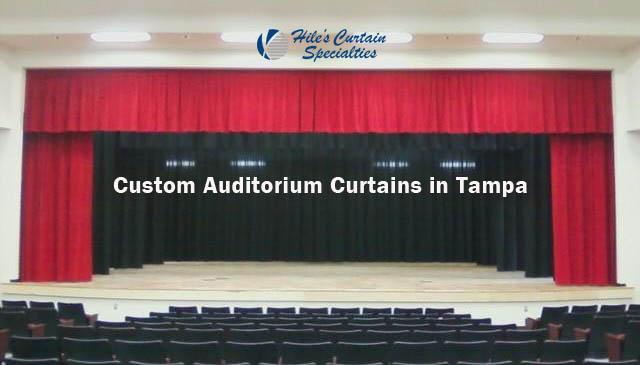 Custom Auditorium Curtains in Tampa Bay