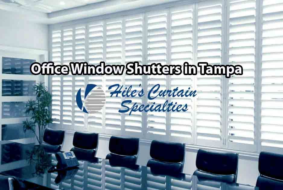 Custom Window Treatments in Tampa 2- Hiles Curtain Specialties - Shutters
