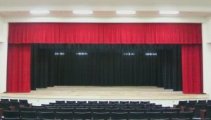Custom Stage Curtains in Orlando - Contact Hile's Curtain Specialties - High School Stage
