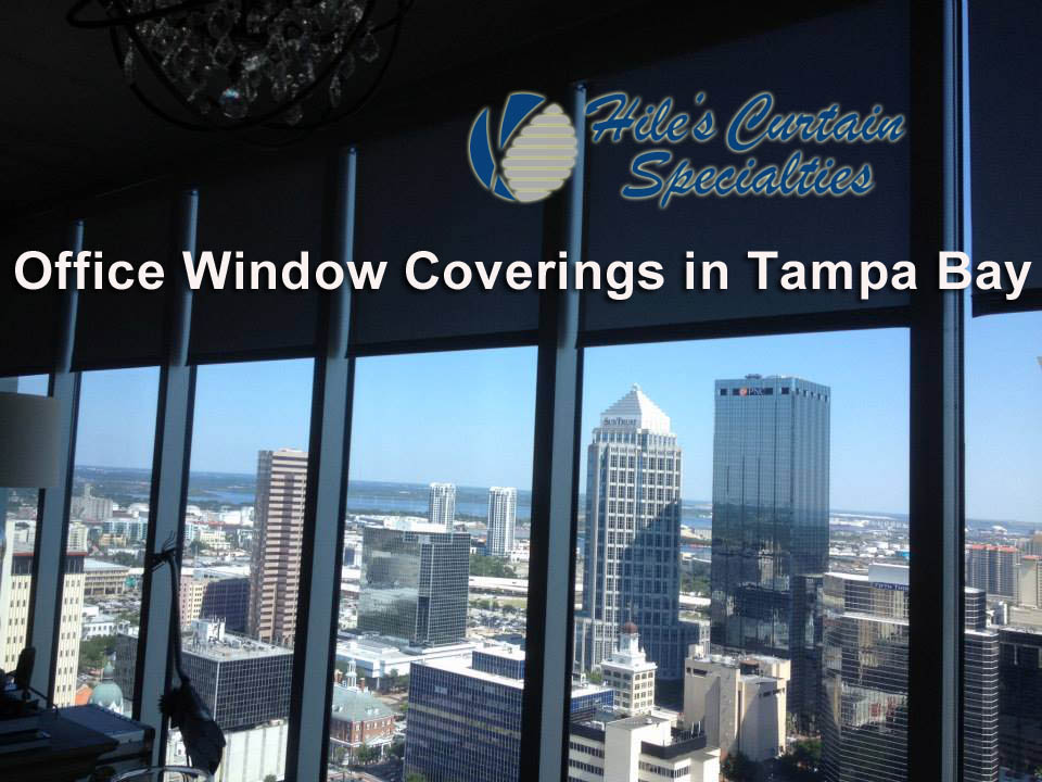 Office Window Coverings in Tampa Bay Area