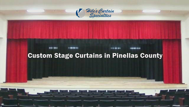 Stage Curtains in Pinellas County