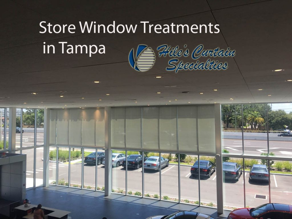 Store Window Treatments in Tampa