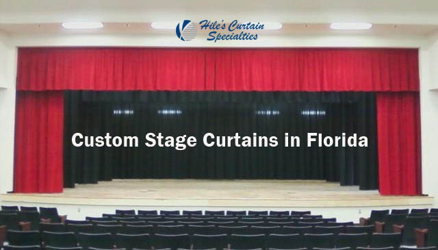 Custom Stage Curtains in Florida
