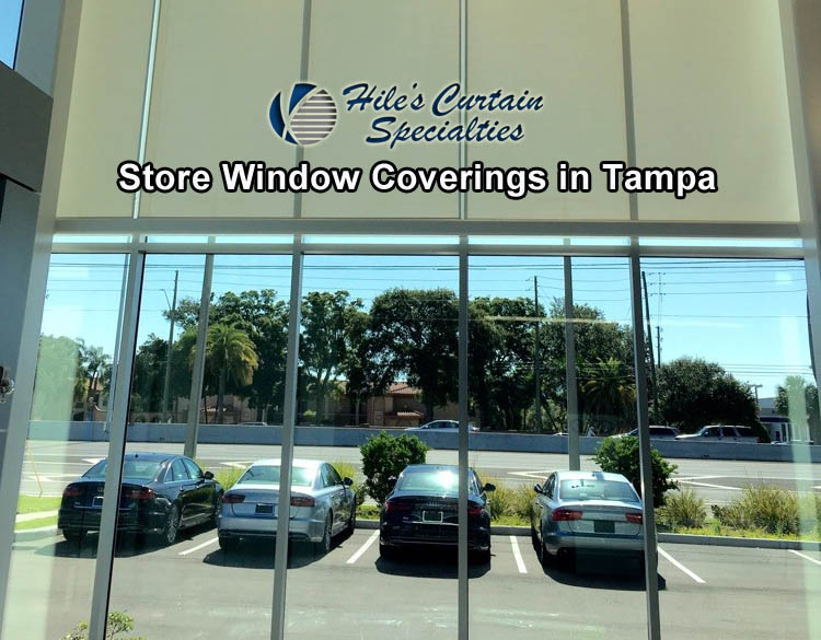Store Window Coverings in Tampa