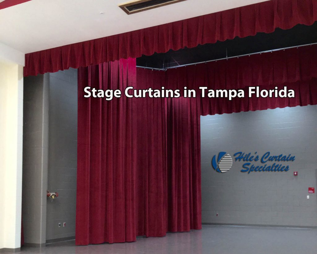 Stage and Theatrical Curtains in Tampa