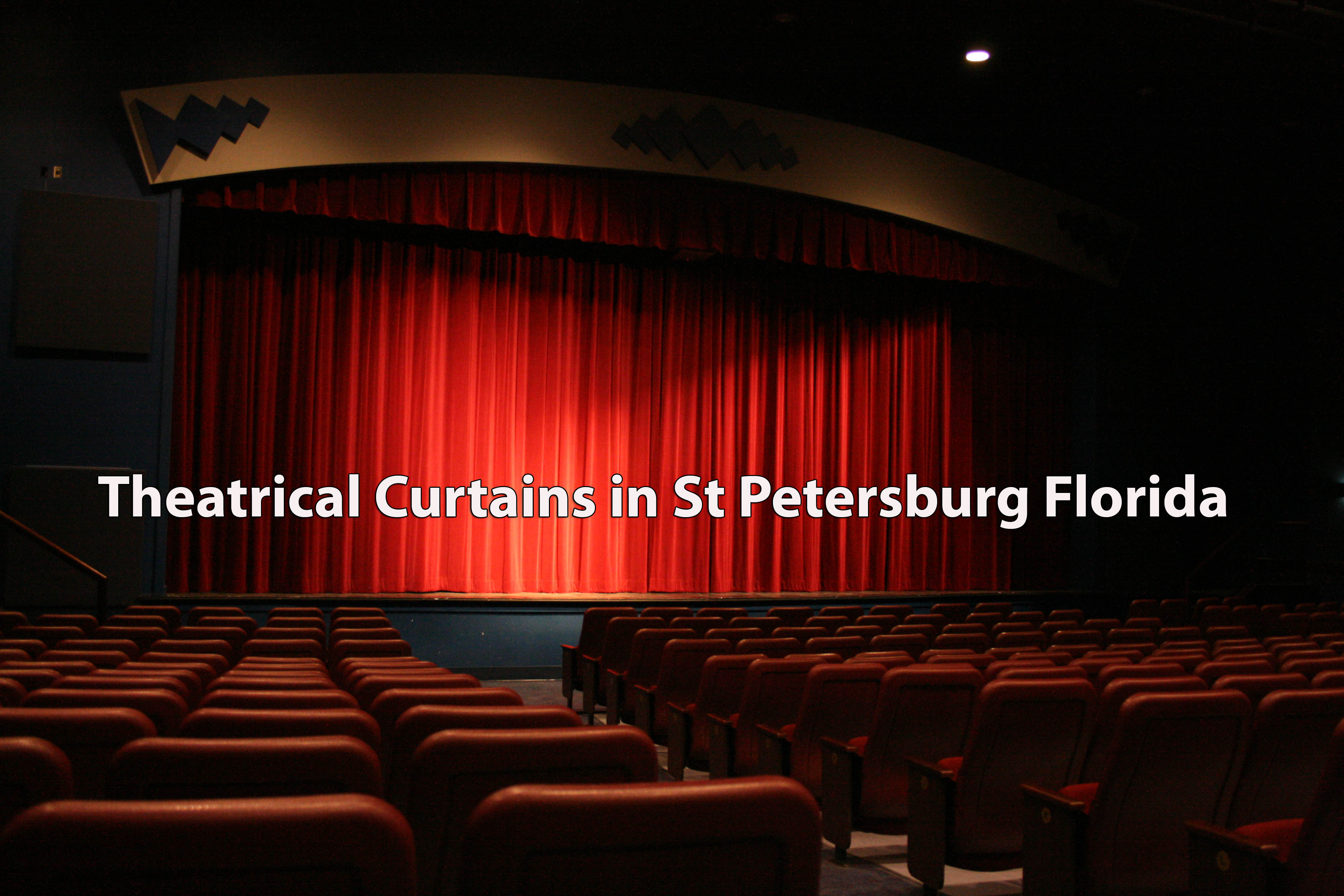 Theatrical Curtains in St Petersburg Florida