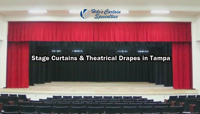 Stage Curtains and Theatrical Drapes in Tampa