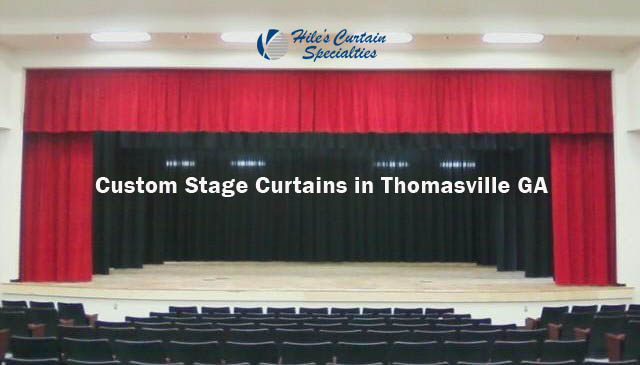 Custom Stage Curtains in Thomasville GA