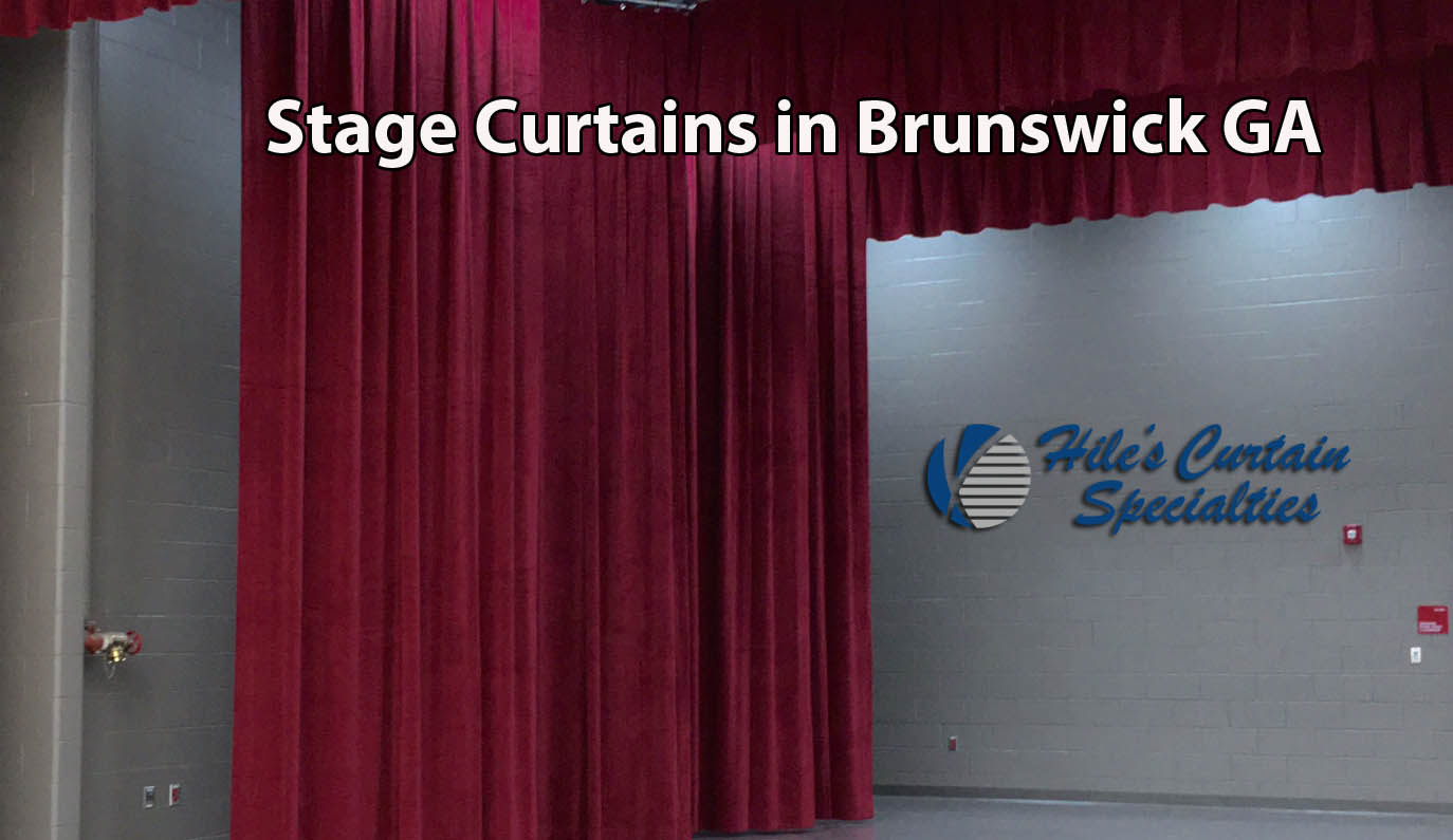 Stage Curtains in Brunswick GA