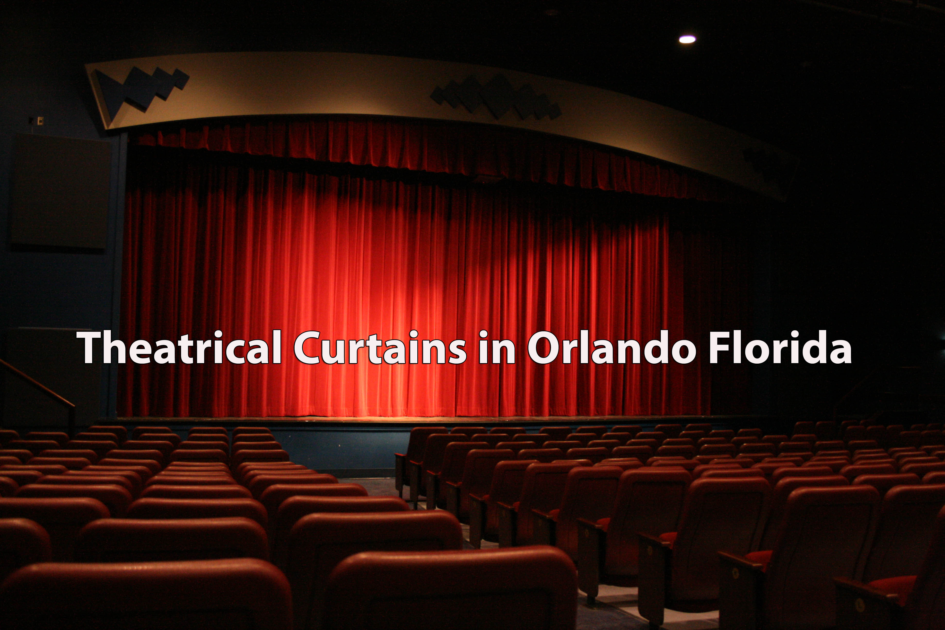 Theatrical Curtains in Orlando Florida