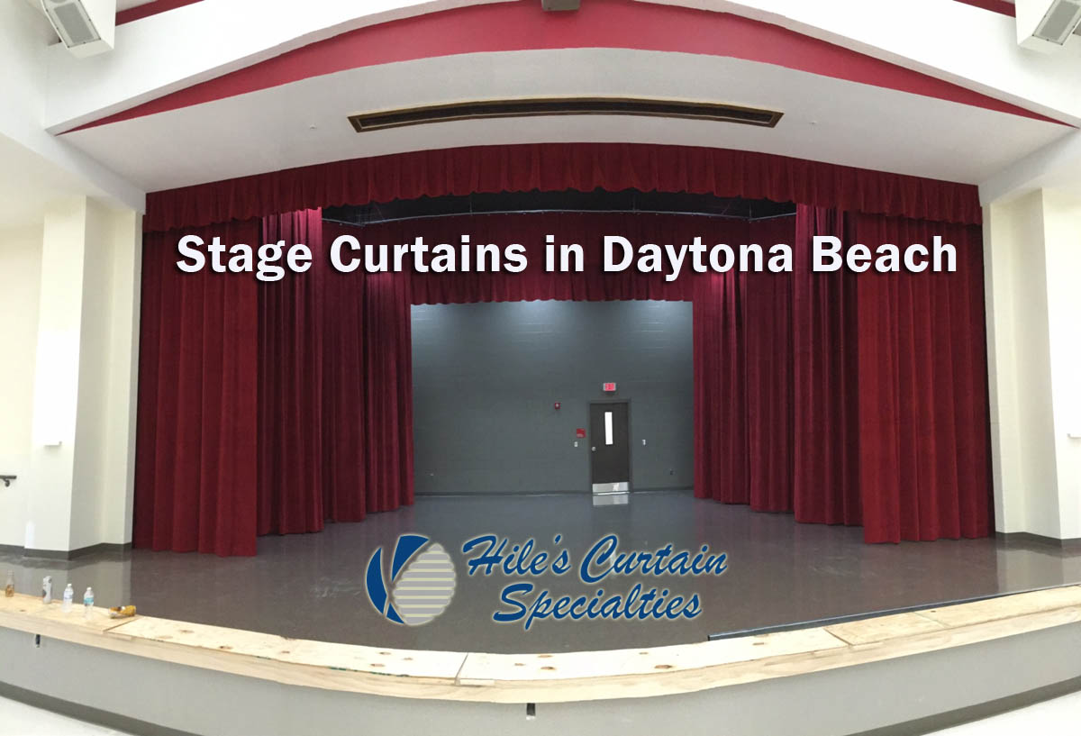 Stage Curtains in Daytona