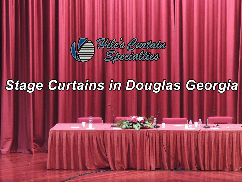 Stage Curtains in Douglas Georgia