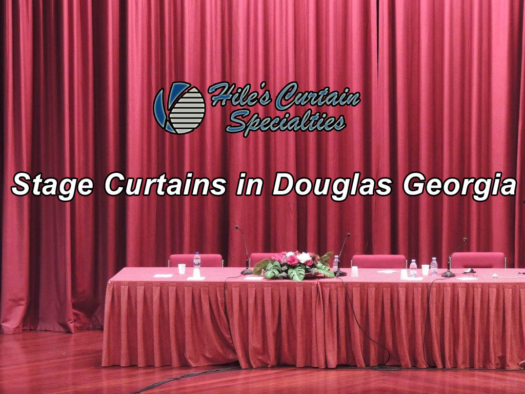 Stage Curtains in Douglas Georgia