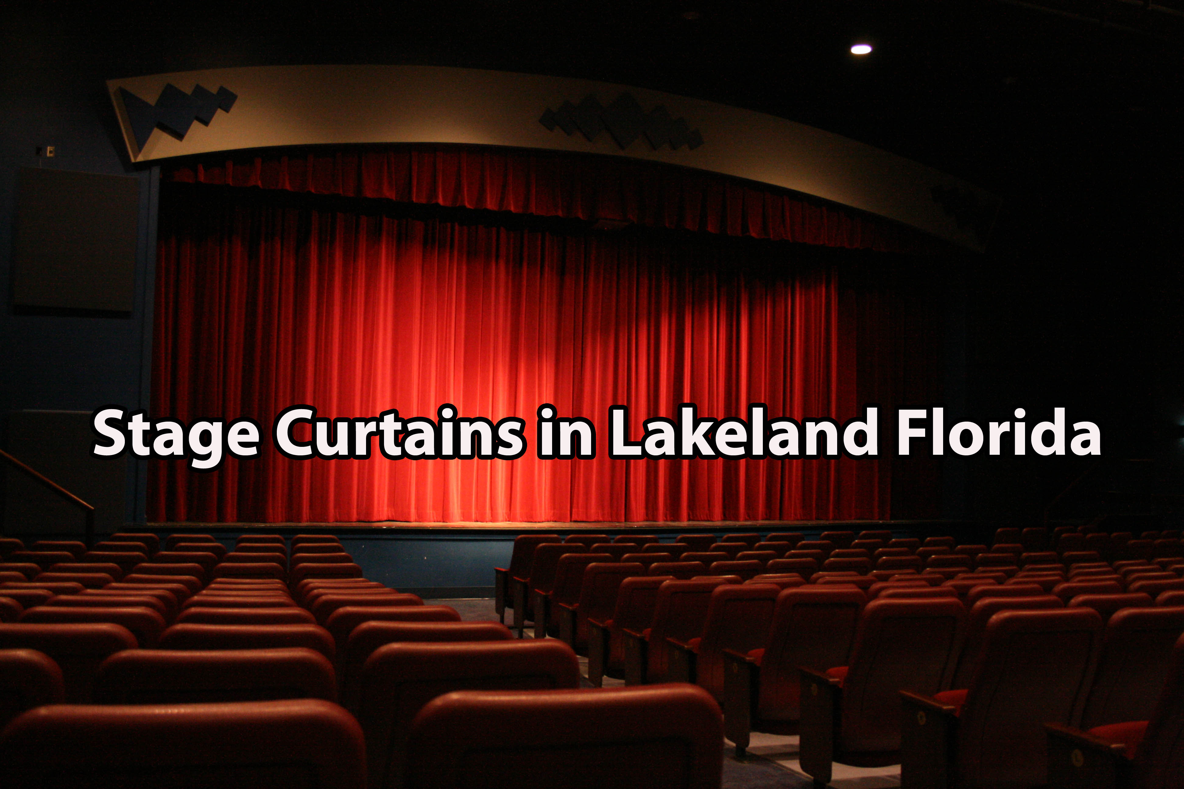 Stage Curtains in Lakeland Florida