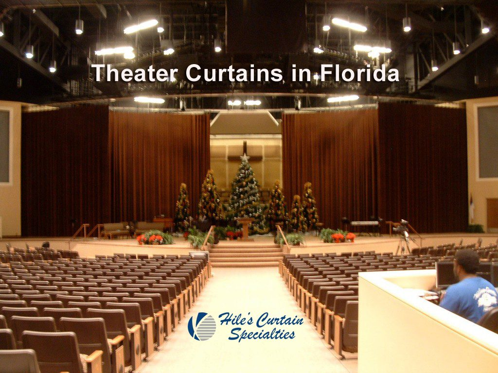 Theater  and Stage Curtains in Ocala Florida