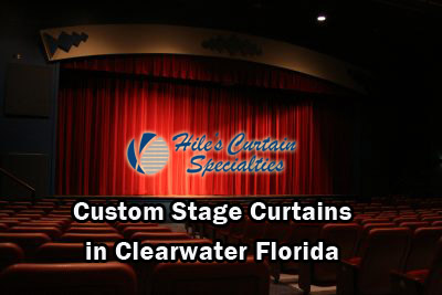 Custom Stage Curtains in Clearwater