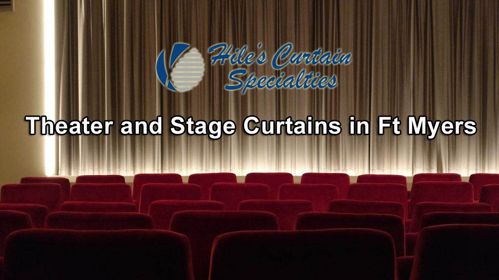 Stage Curtains in Ft Myers