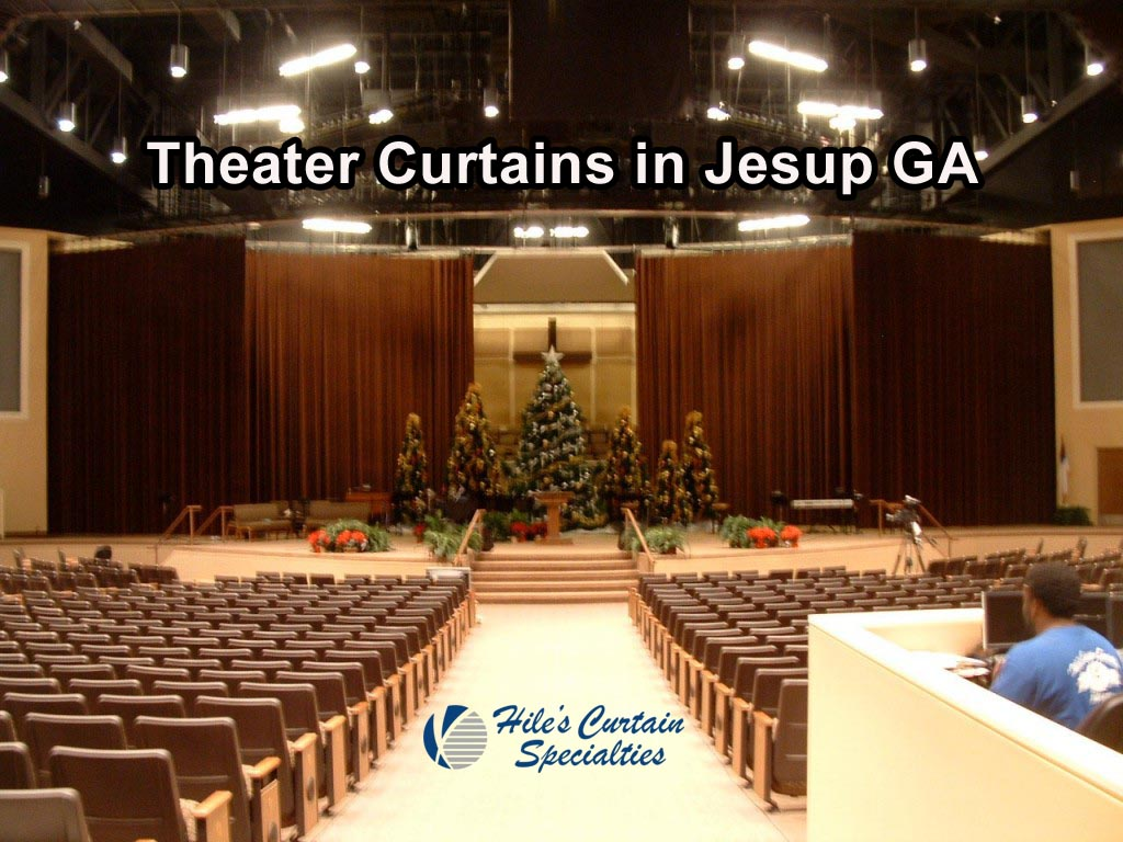 Stage Curtains in Jesup GA