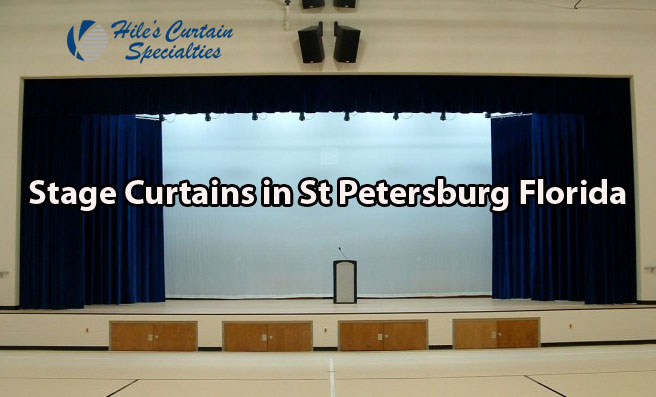 Stage Curtains in St Petersburg Florida