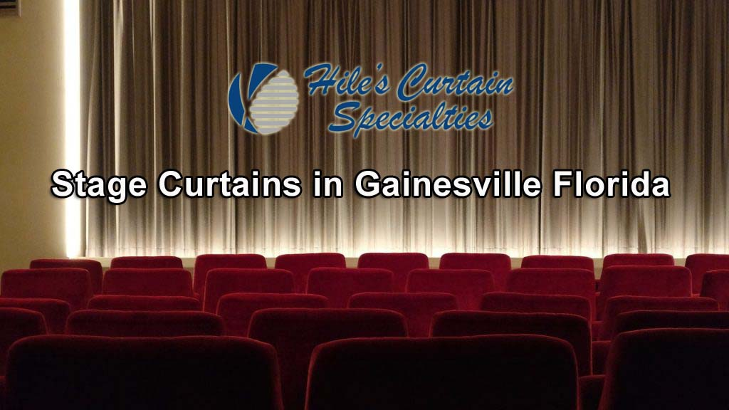Stage Curtains in Gainesville